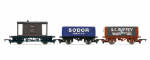 Hornby R9706 Open Wagon - 3 Wagon Pack